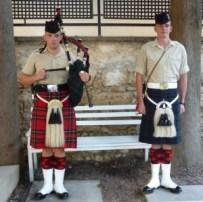Pte John Murdoch and L.Cpl. Sean McKenna