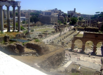 Remains of the Roman Forum