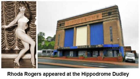 Rhoda Rogers at the Hippodrome Dudley