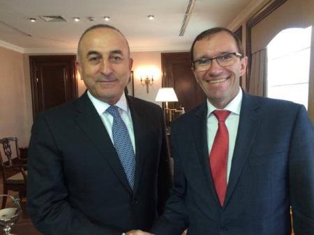 Çavuşoğlu and Eide