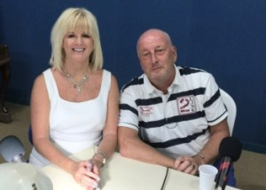 Denise Phillips and Colin Browne