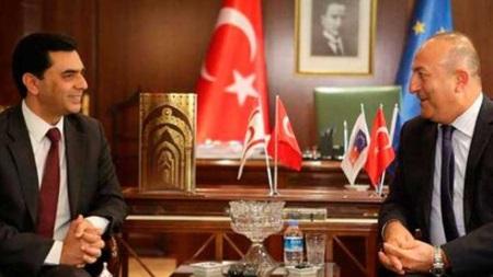 Nami meets Çavuşoğlu in Ankara