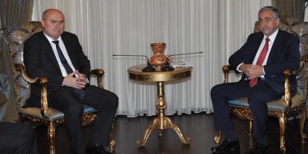 Feridun Sinirlioğlu and Mustafa Akinci