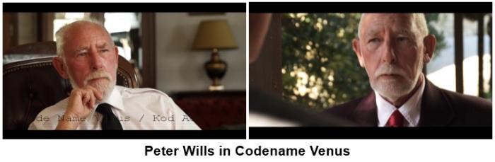 Peter Wills in Codename Venus