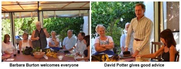 Barbara Burton and David Potter