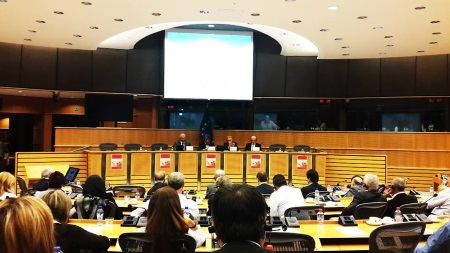 Talat at European Parliament