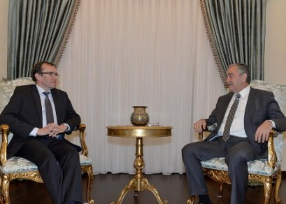 Espen Barth Eide and Mustafa Akinci