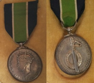 King George VI - Long Service and Good Conduct - Colonial Police Forces