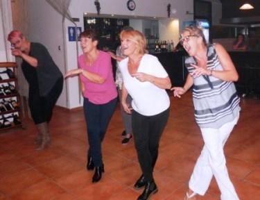 Perdi, Morag, Tina and Sandra