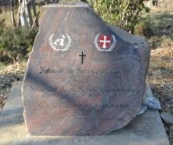 Memorial to 2 Danish soldiers