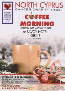 NCCCT January Coffee Moring 2016