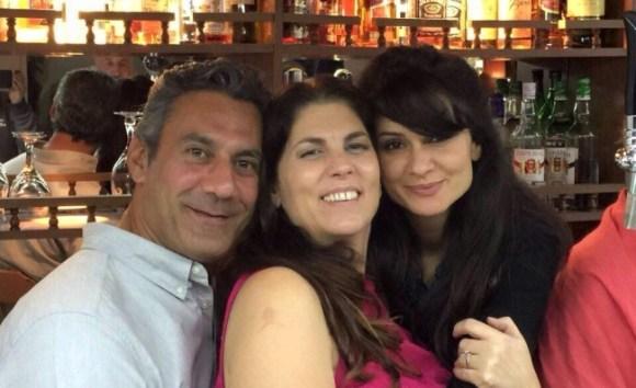Yvonne and Osman, with Filiz Saffetoglu