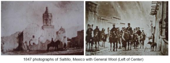 Saltillo Mexico in 1847 1