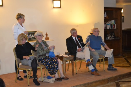 Jacqueline McIntyre, Diana Peek, Ian Chennell, Bill McIntyre and Deborah Bahadir