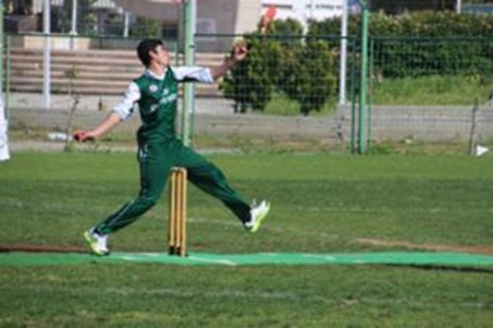 EMU bowler Meyed Hussain takes 4 wickets again