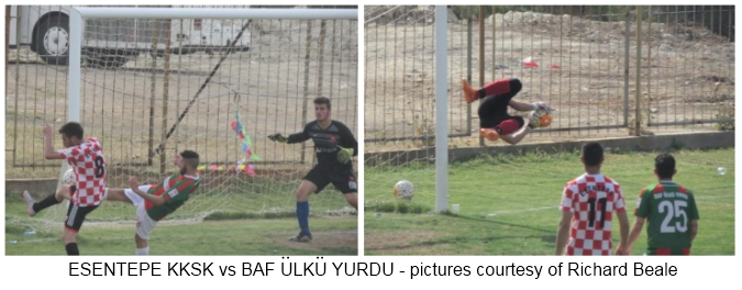 Esentepe KKSK vs Baf Ulku Yurdu - pictures courtsey of Riached Beale 2