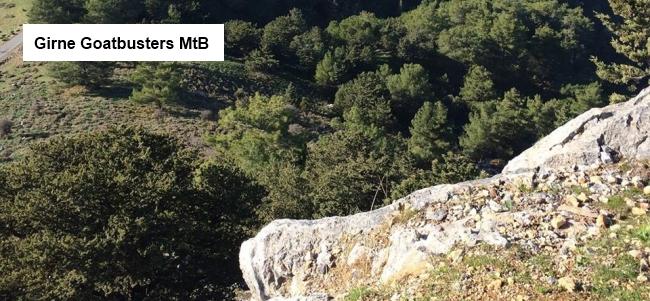 Girne Goatbusters MtB banner
