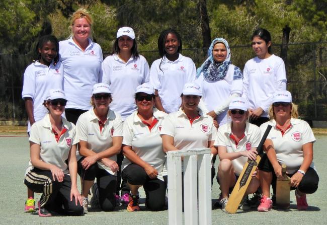 TRNC and Cyprus Ladies Cricket Teams