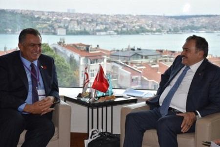 Cavusoglu met with Eroglu
