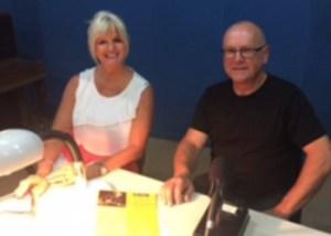 Denise Phillips and Gavin Simons