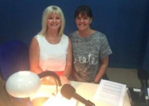 Denise Phillips and Wendy Thomas
