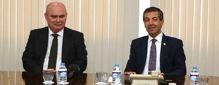 Feridun Sinirlioglu and Tahsin Ertugruloglu