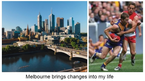 Melbourne and a change in life