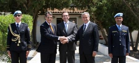 Leaders meet 23 June