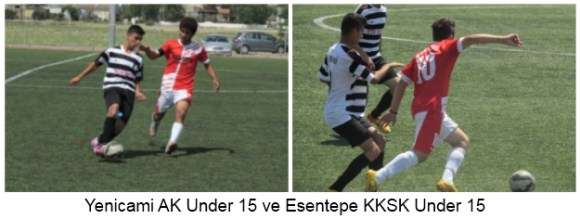 Yenicami AK Under 15 Esentepe KKSK Under 15 pic 2