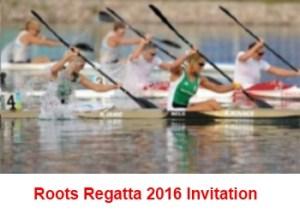 Roots Regatta invitation image