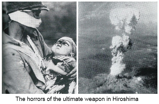The horrors of the ultimate weapon in Hiroshima