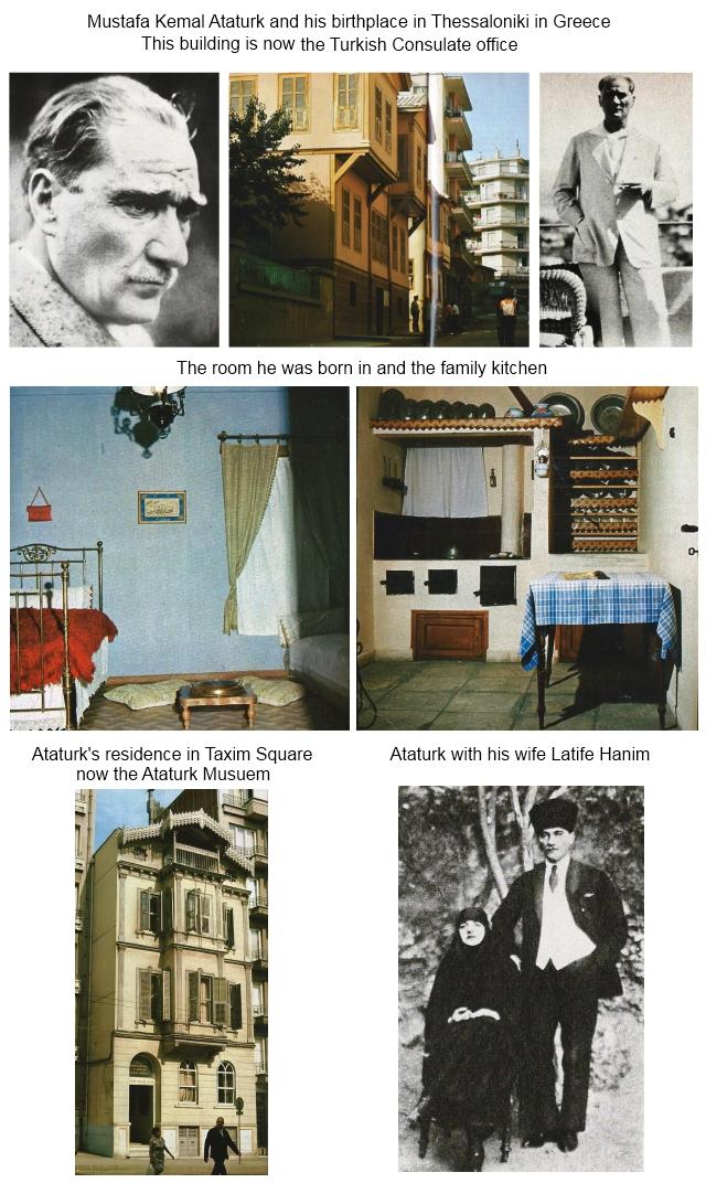 The life of Mustafa Kemal Ataturk
