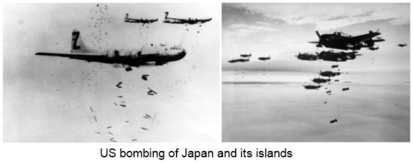 US bombing of Japan