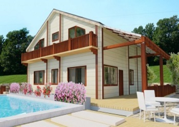 North Cyprus New Concept Of Wooden Houses Cyprusscenecom