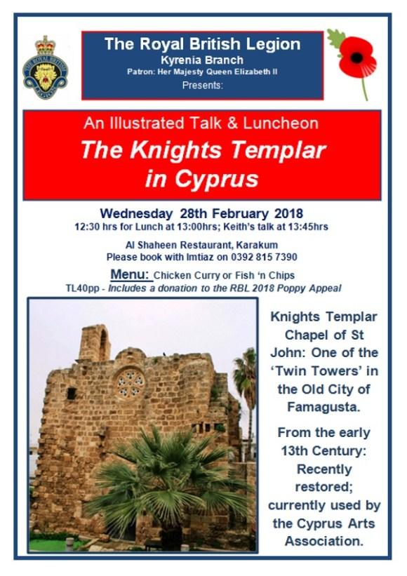 Knights Templar talk