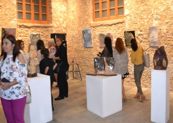 Exhibition of Art, Ceramics and Paper Art at Girne Art Gallery