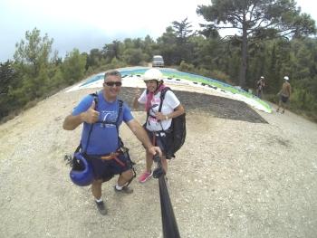 Özgür Gökaşan of Highline Paragliding 2