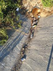 Kentin farklı noktlarında temizliğe devam edildi (2)