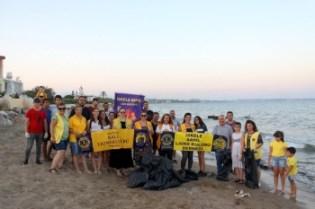 clean a local beach