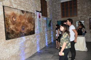"Özlem Ekinci's ""İz"" painting exhibition (2)"