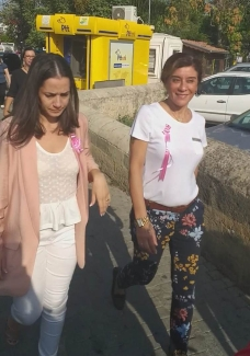 Girne Municipality employees walked in Breast Cancer awareness walk (2) 2