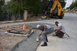 Alsancak Municipality rtoad works (4)