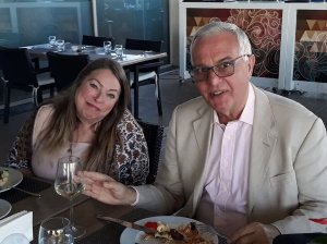 Christine Aygin and Stuart Hillard