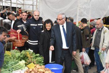 Güngördü celebrated New Year at the Girne Wednesday Market (7)