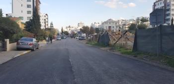 Girne Municipality Asphalt Surfacing Work Continues (1)
