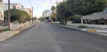 Girne Municipality Asphalt Surfacing Work Continues (2)