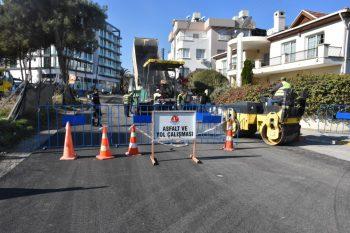 Girne Municipality Asphalt Surfacing Work Continues (3)
