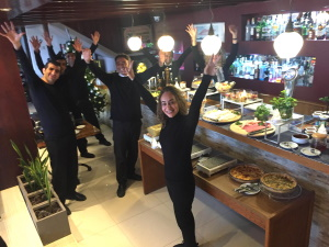 Staff at Cafe Chimera 300