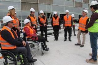 Disability Asso vist new Ercan terminal (1)