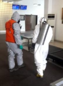 Ercan Airport Coronavirus control (3)